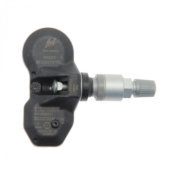 4x RDKS TPMS Reifendrucksensor Reifendruckkontrollsystem Metallventil DarkGrey passend f/ür 1er 2er 3er 4er i3 i8 M2 M3