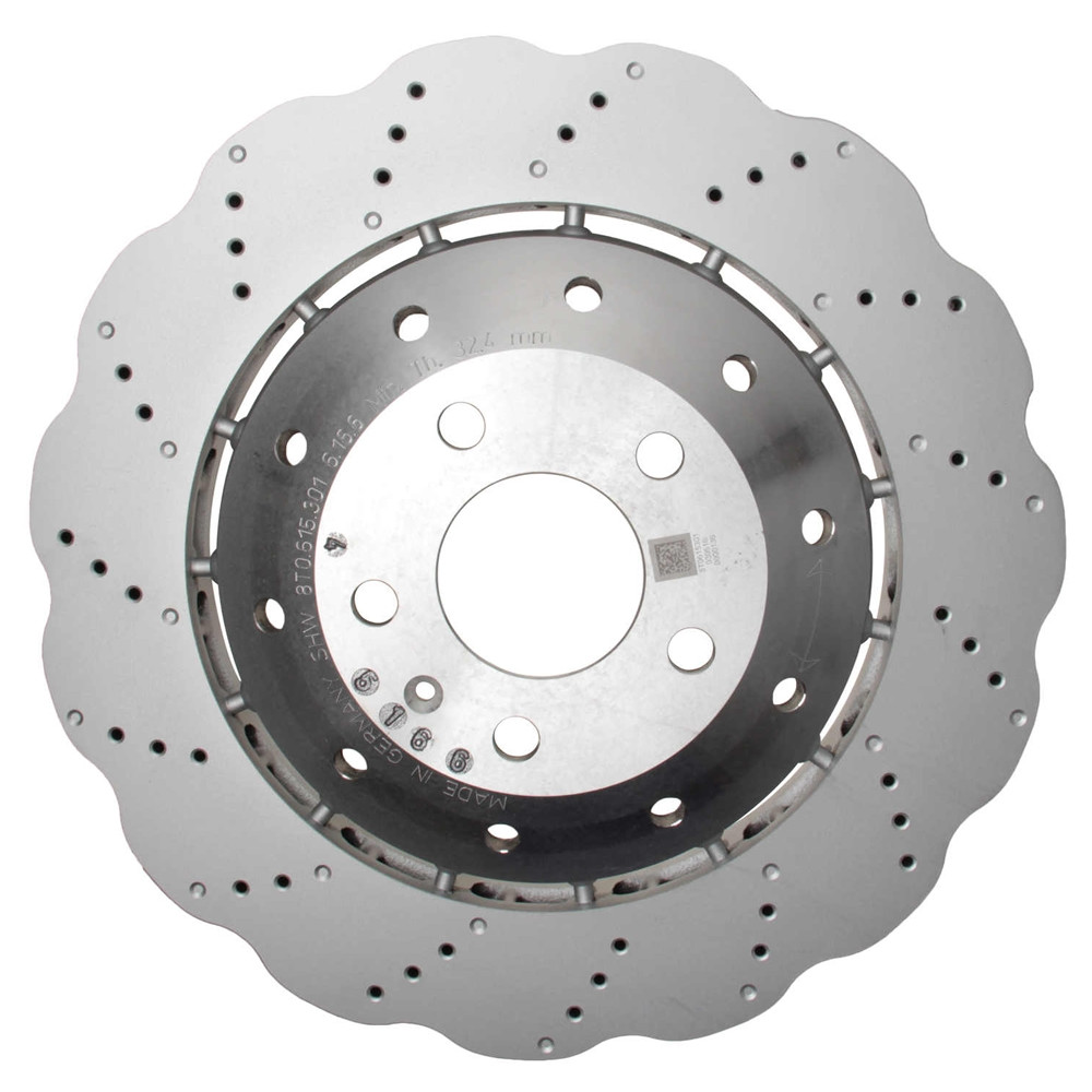 FRONT KIT Reliance *OE REPLACEMENT* Disc Brake Rotors *Plus Ceramic Pads F1953