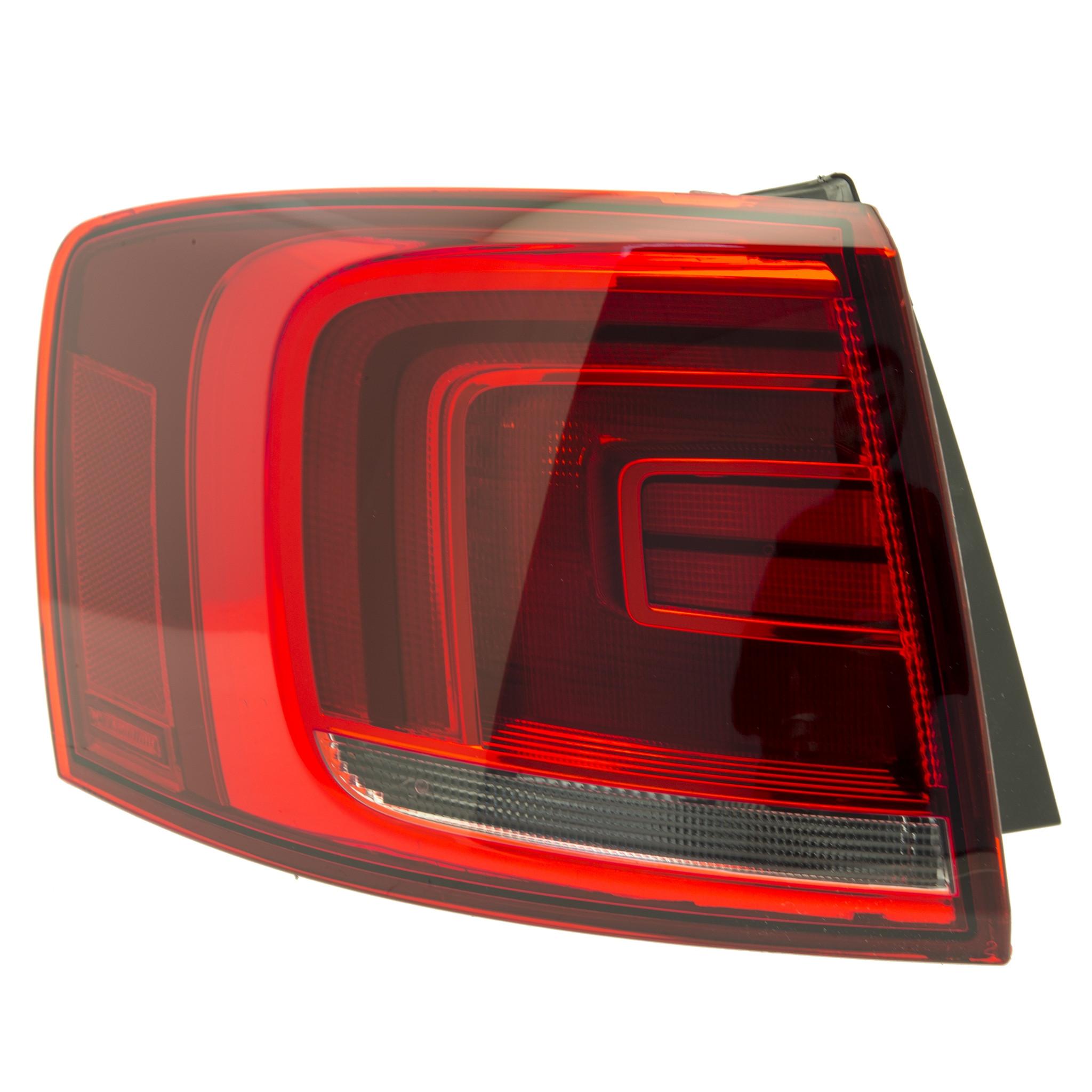 Right Side Marker Light Assembly TYC W767HV for VW Jetta 2006 2008 2007 2005