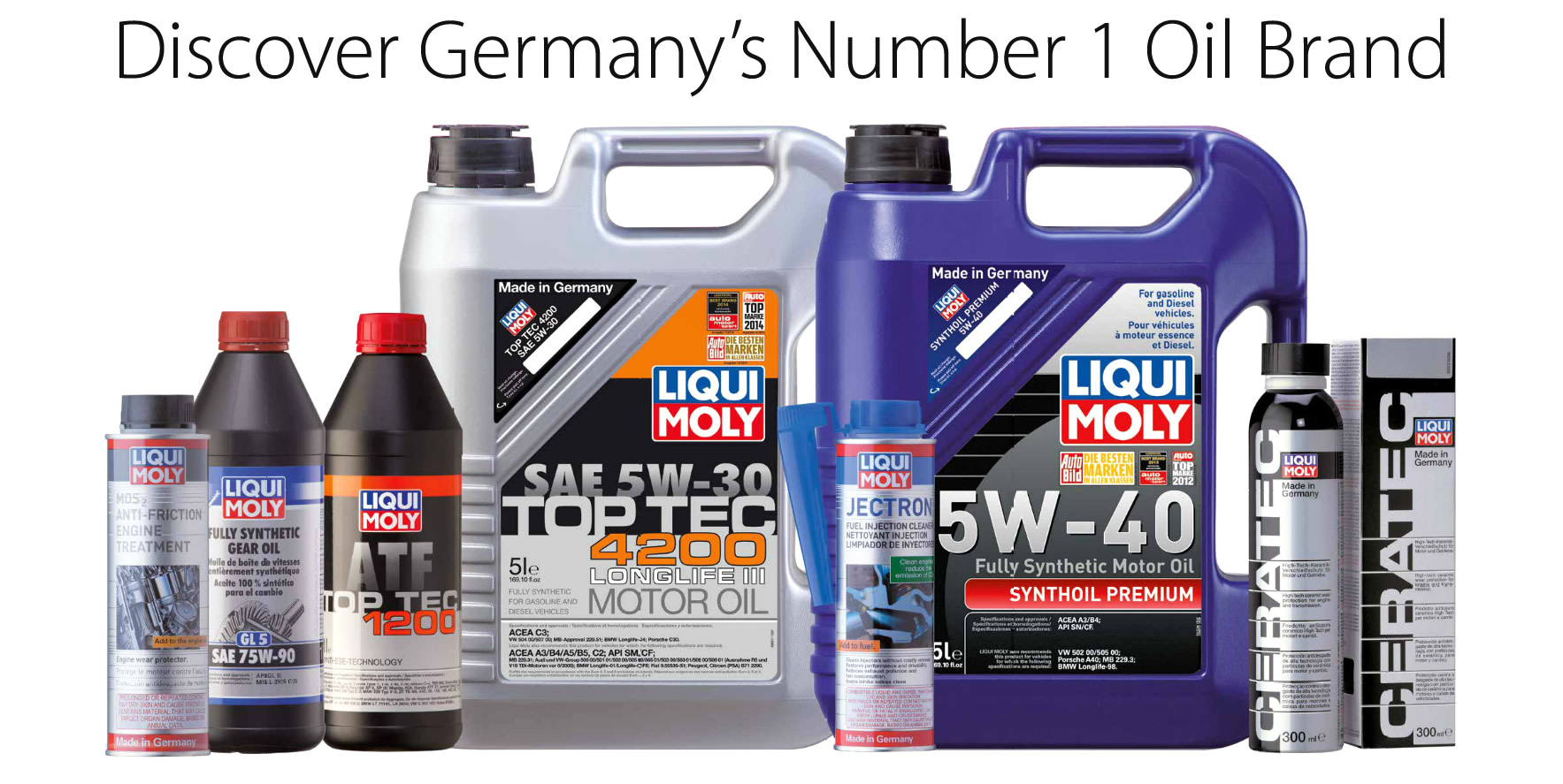 Liqui Moly Oil and Additives